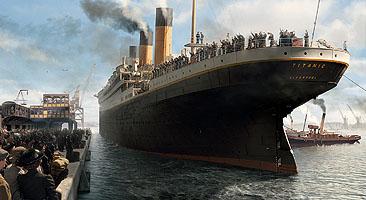 (Titanic Menu)